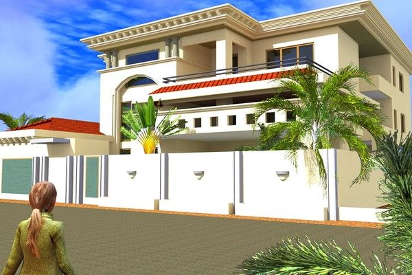 Projet de construction d 39 une residence a bamako au mali - Architecture africaine moderne ...