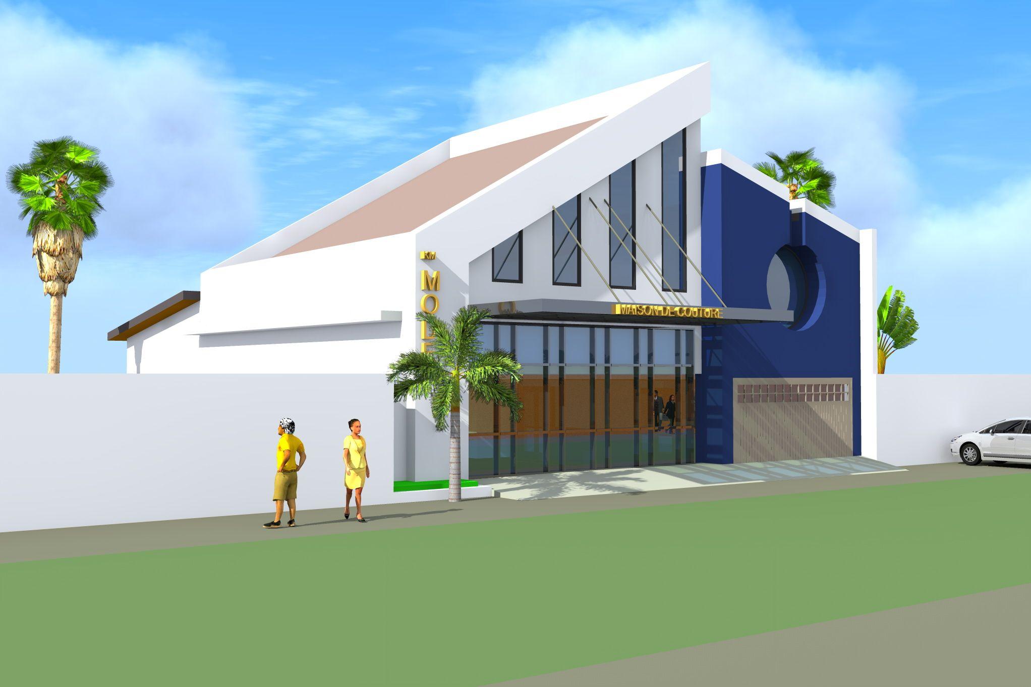Projet de construction d 39 une maison de couture a lome for Projet de construction de maison