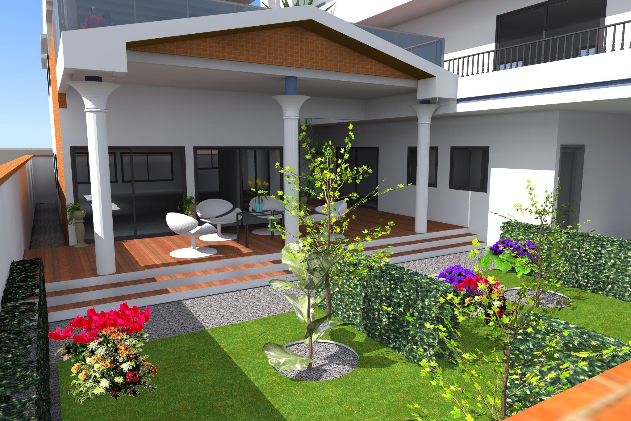 projet de construction d 39 une villa a cotonou au benin. Black Bedroom Furniture Sets. Home Design Ideas